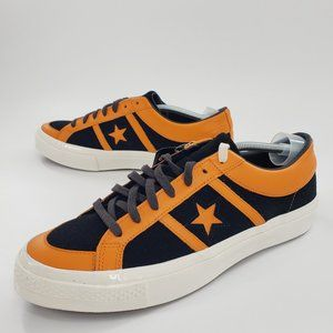 Converse One Star Academy Low Unisex Black Orange